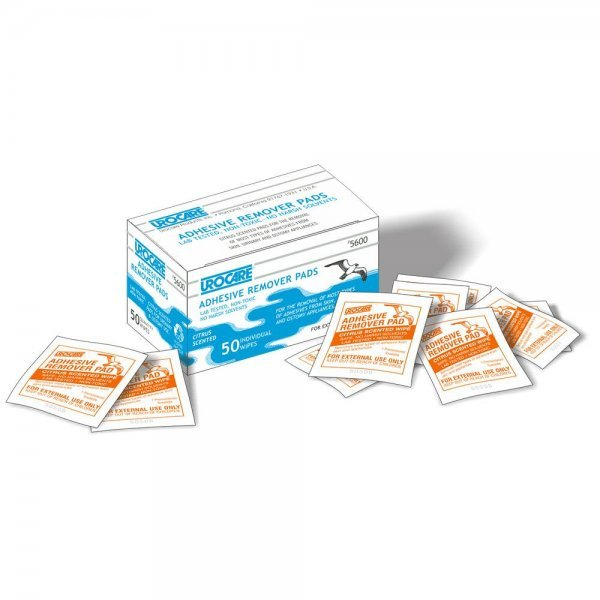 UROCARE ADHESIVE REMOVER PADS (50 Stk)
