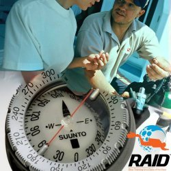 RAID Underwater Navigation Instructor