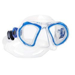 CHILD 2 Kindermaske (blau/transparent)