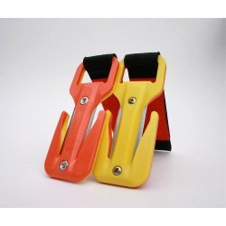 Trilobite Hi-Viz Harness (gelb/orange/orange)